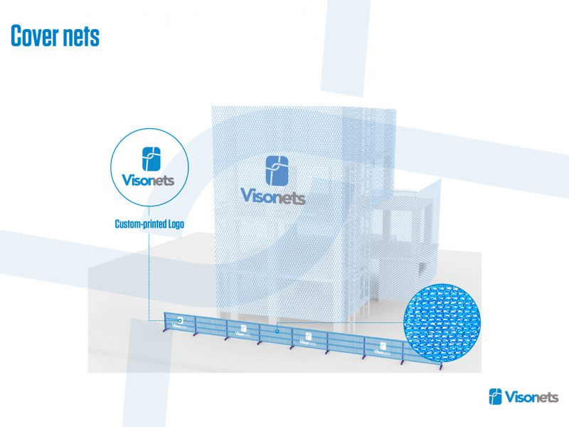Protective net – Cover net system VISORNETS