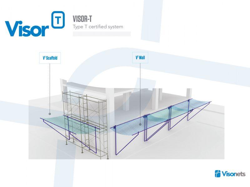 Safety Net Fan Type T – VISOR-S