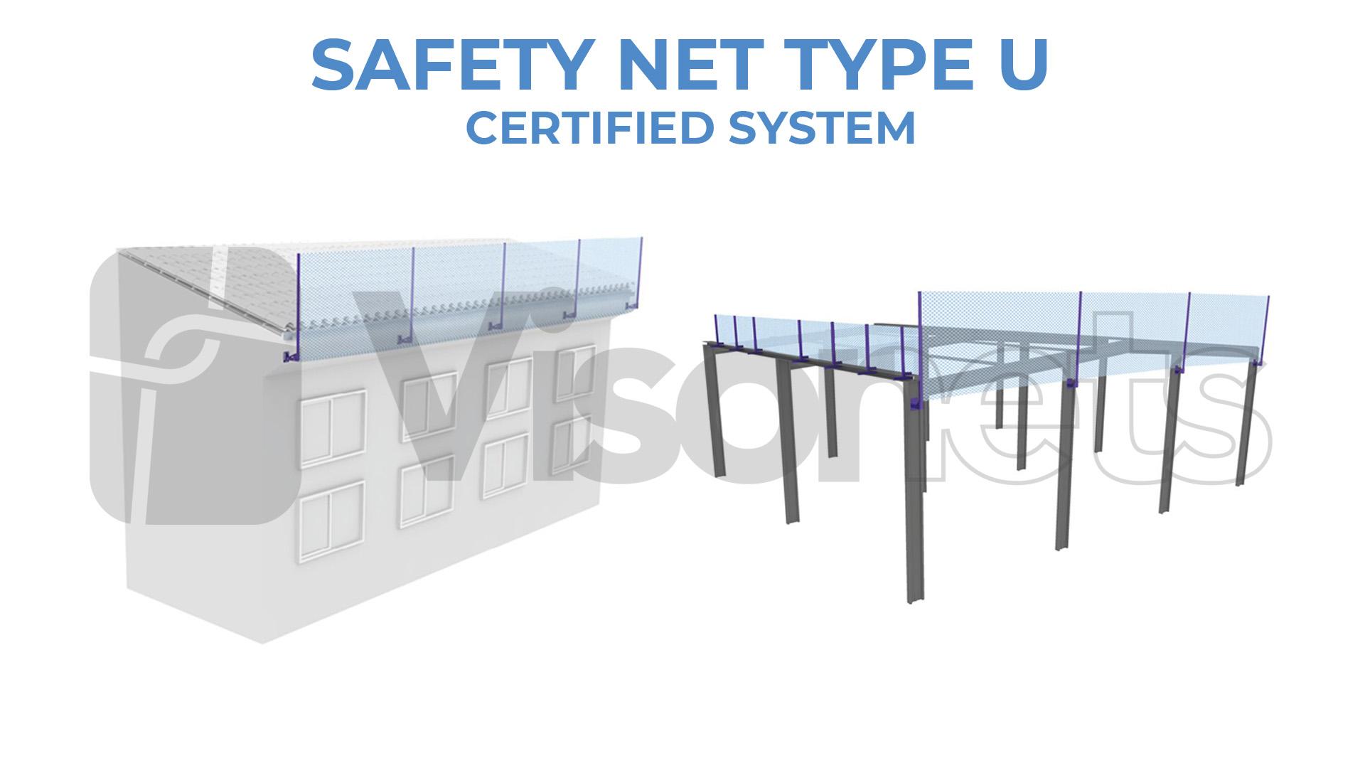 safety net type U by visornets