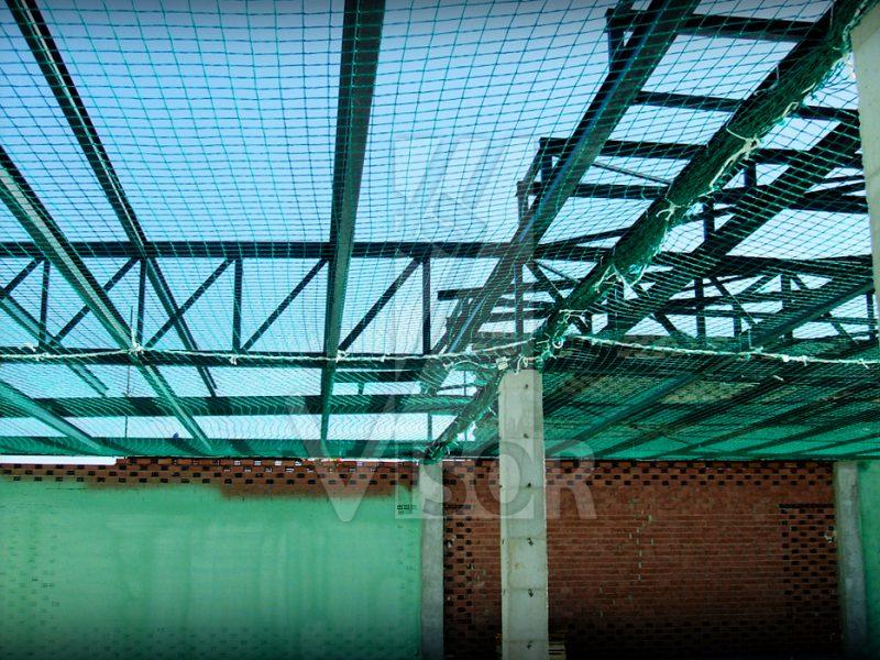 Anti fall prevention systems - Visor Fall Arrest Nets - Safety Netting - VISORNETS