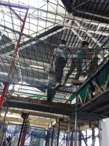 Feria SAIE Redes de Seguridad en Bologna - VISORNETS