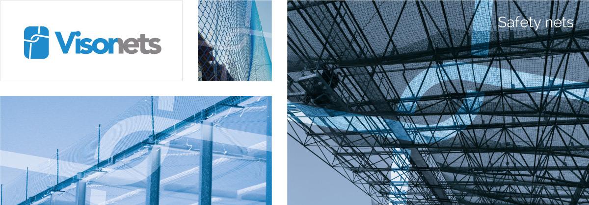 Safety nets EN-1263-1 - VISORNETS - Fall arrest nets