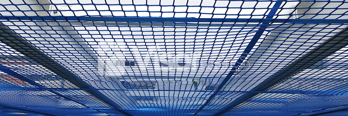Walk-on nets - Tensioned Access Platforms (TAP)